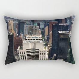NewYork New York - A View Over Manhattan Rectangular Pillow