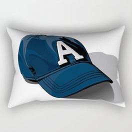 Baseball Cap Rectangular Pillow