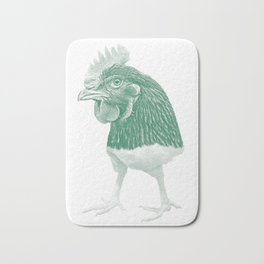 Chicken Run Bath Mat