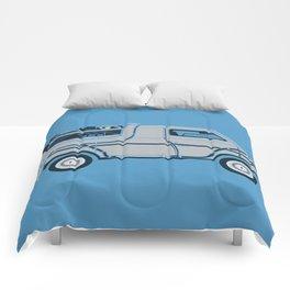 Back to The Future DeloreVan Comforters