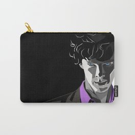 Sherlock Holmes Portrait Carry-All Pouch