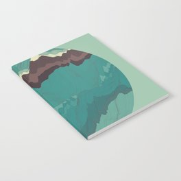 TOPOGRAPHY 004 Notebook