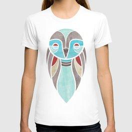 owl colour T-shirt
