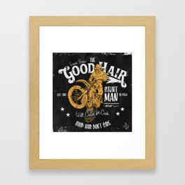 Ernesto Barba The Good Hair Stunt Man Framed Art Print