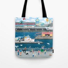 Steveston Landing Tote Bag