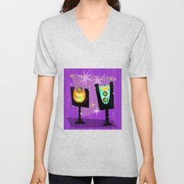Cocktail Hour Unisex V-Neck