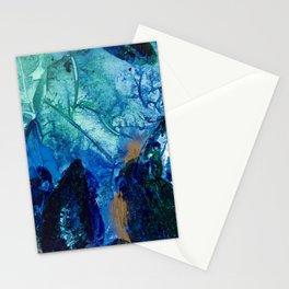 Sea Leaves, Tiny World Collection Stationery Cards