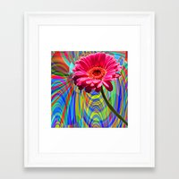 perfume Framed Art Prints featuring PERFUME by SPACEZING