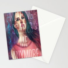 Nothing Scares Me Anymore Stationery Cards