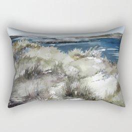 Cold seashore grass Rectangular Pillow