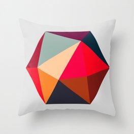 Hex series 1.2 Throw Pillow