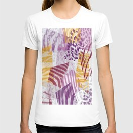 Abstract safari pattern T-shirt