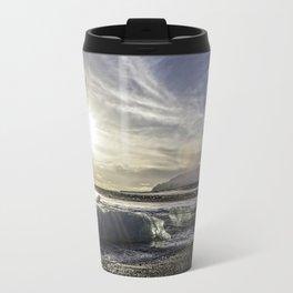 Jokulsarlon Lagoon Beach 03 Travel Mug