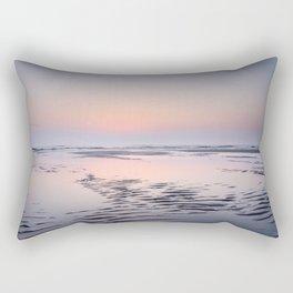 Tropical sunset Texel | Travel photography Netherlands |  Rectangular Pillow