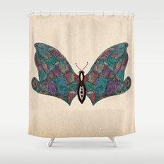 - flyfly - Shower Curtain