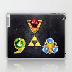 The Timeless Legend of Zelda Inspired Spiritual Stones Laptop & iPad Skin