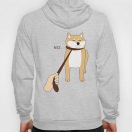 Cute Shiba Inu Shirt Nope Hoody