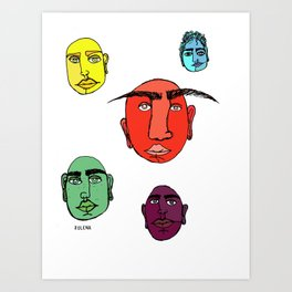 ElFitos Art Print