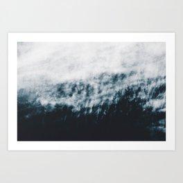 Abstract #fog Art Print