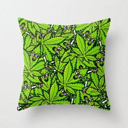 Marijuana Love Throw Pillow