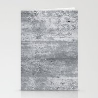 concrete Stationery Cards featuring Concrete by Grace