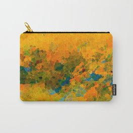 Morning Sun Glow Circle Pattern Abstract Carry-All Pouch
