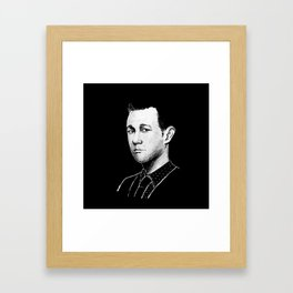 The Joseph Gordon-Levitt Framed Art Print