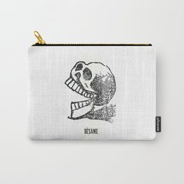Besame Calavera Sugar Skull Carry-All Pouch