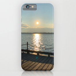 Downtown Toronto Harbourfront Sunrise iPhone Case