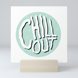 Chill Out Mini Art Print