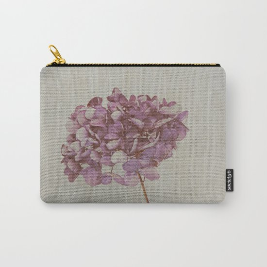 Beautiful Vintage Hydrangea Carry-All Pouch