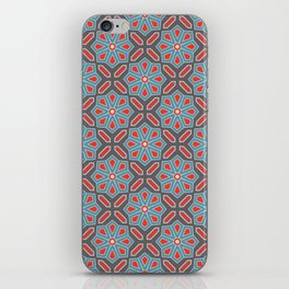 Volcanic Eruption Abstract Print Seamless Pattern iPhone Skin