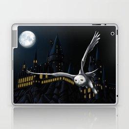 Hedwig's flight at Night Laptop & iPad Skin