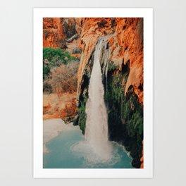 Havasupai Falls Art Print
