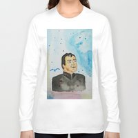 crowley Long Sleeve T-shirts featuring supernatural crowley by meldemirci