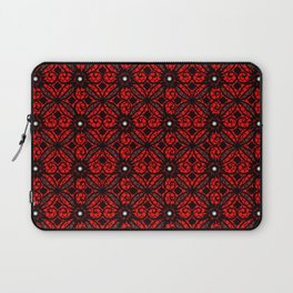 Red Gothic Laptop Sleeve