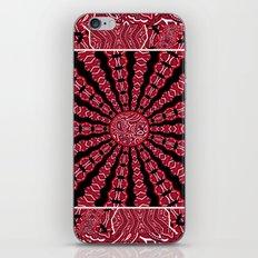 Red Bandana iPhone & iPod Skin