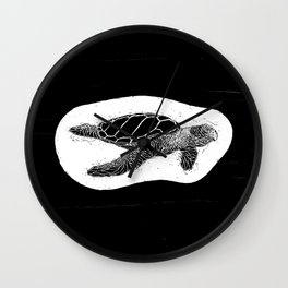 philipp martins turtle Wall Clock
