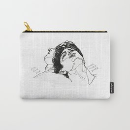 Elio and Oliver CMBYN Call me By Your Name line art Carry-All Pouch