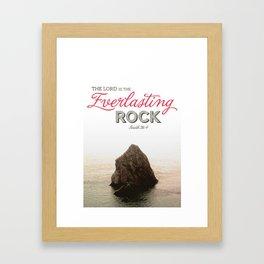 Everlasting Rock Framed Art Print