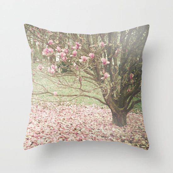 Surrendering Throw Pillow