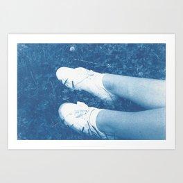 Sinking Art Print