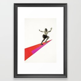 Skate the Day Away Framed Art Print