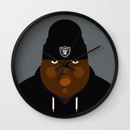 Notorious I Wall Clock
