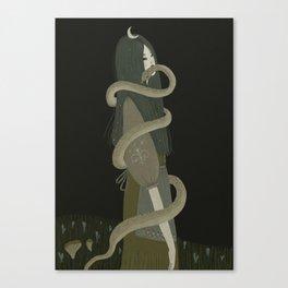 Vipera berus Canvas Print