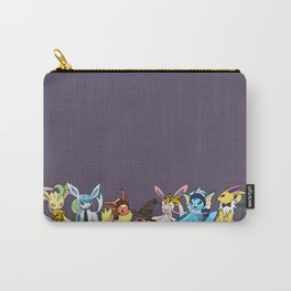Eeveelutions Go To Hogwarts Carry-All Pouch