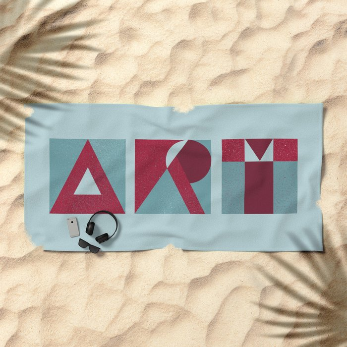 ART Beach Towel