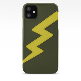 Lightning bolt iPhone Case