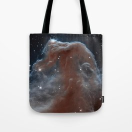 illuminated reins of the nebulous horse | space #11 Tote Bag