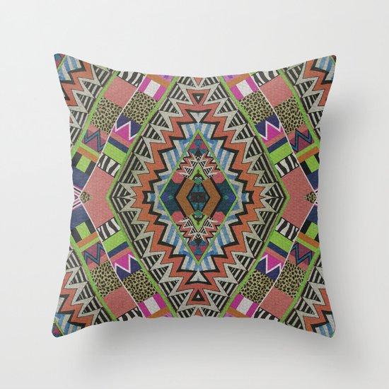 VIBRANT FUCHSIA Throw Pillow